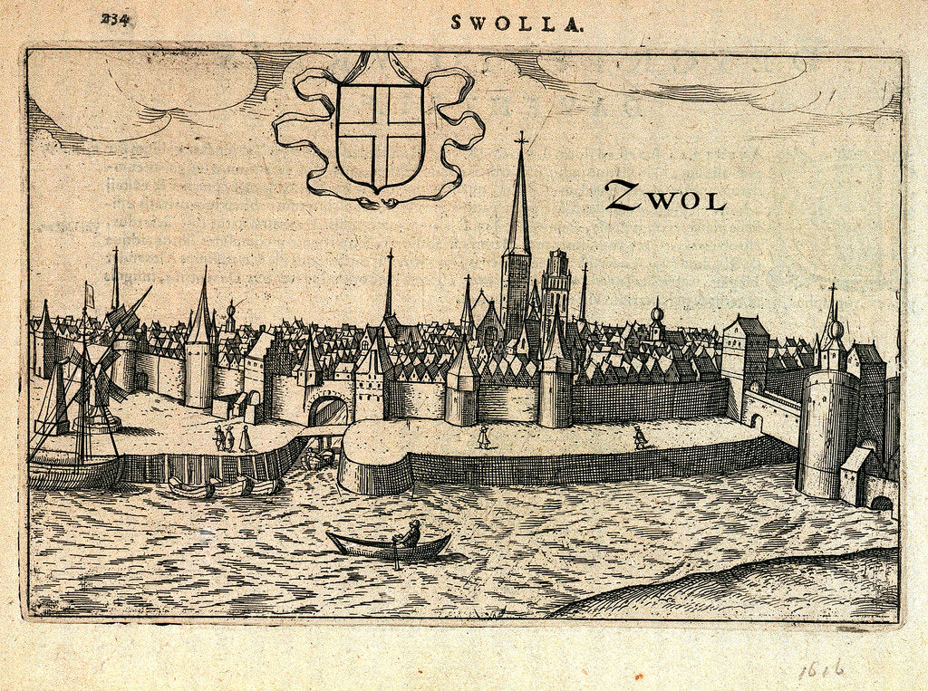 Detail of View of Zwolle, Netherlands by unknown