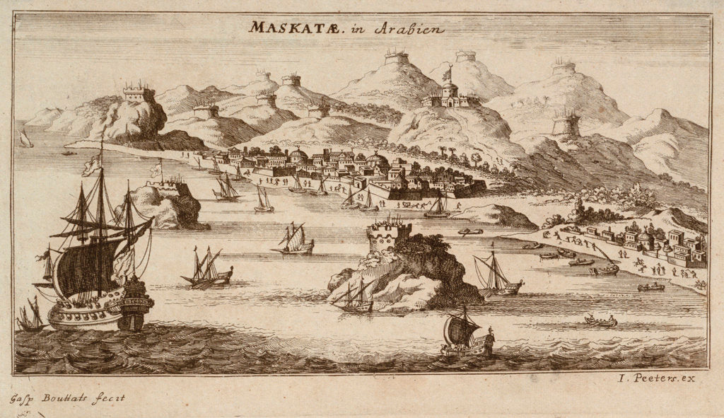 Maskatae in Arabien by Jan Peeters