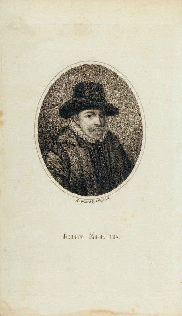 Detail of John Speed by J. Hopwood