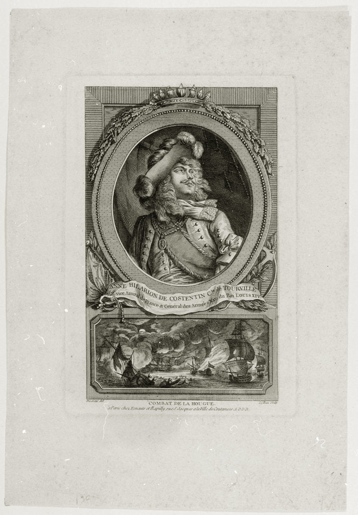 Anne Hilarion de Constentin Cte de Tourville by Desrais