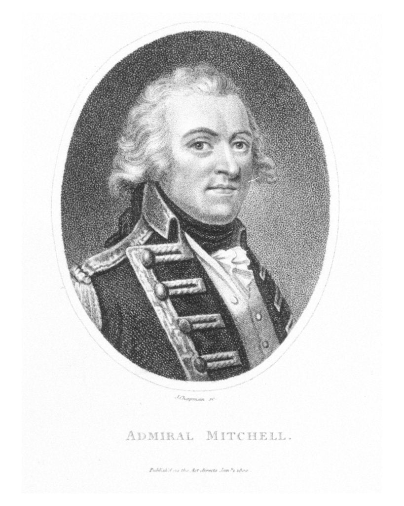 Detail of Admiral Mitchell by John Chapman