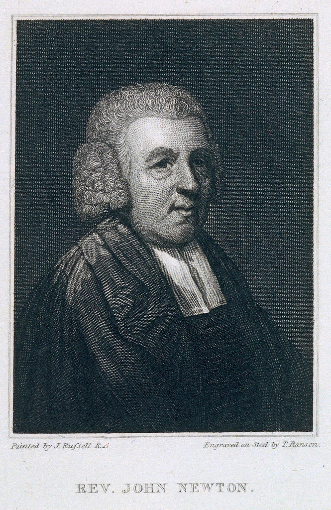 Detail of Rev. John Newton by John Russell