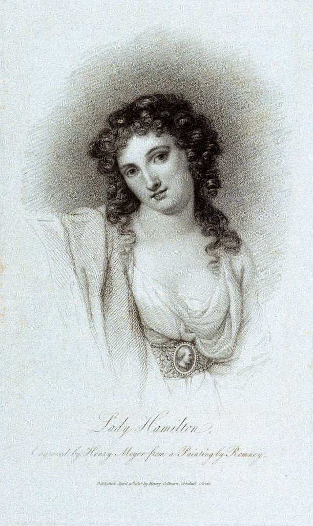 Lady Emma Hamilton by George Romney