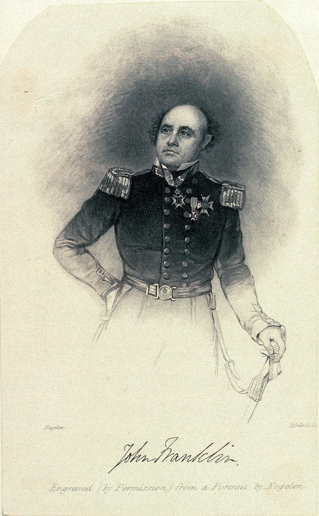 Captain John Franklin by Negelen
