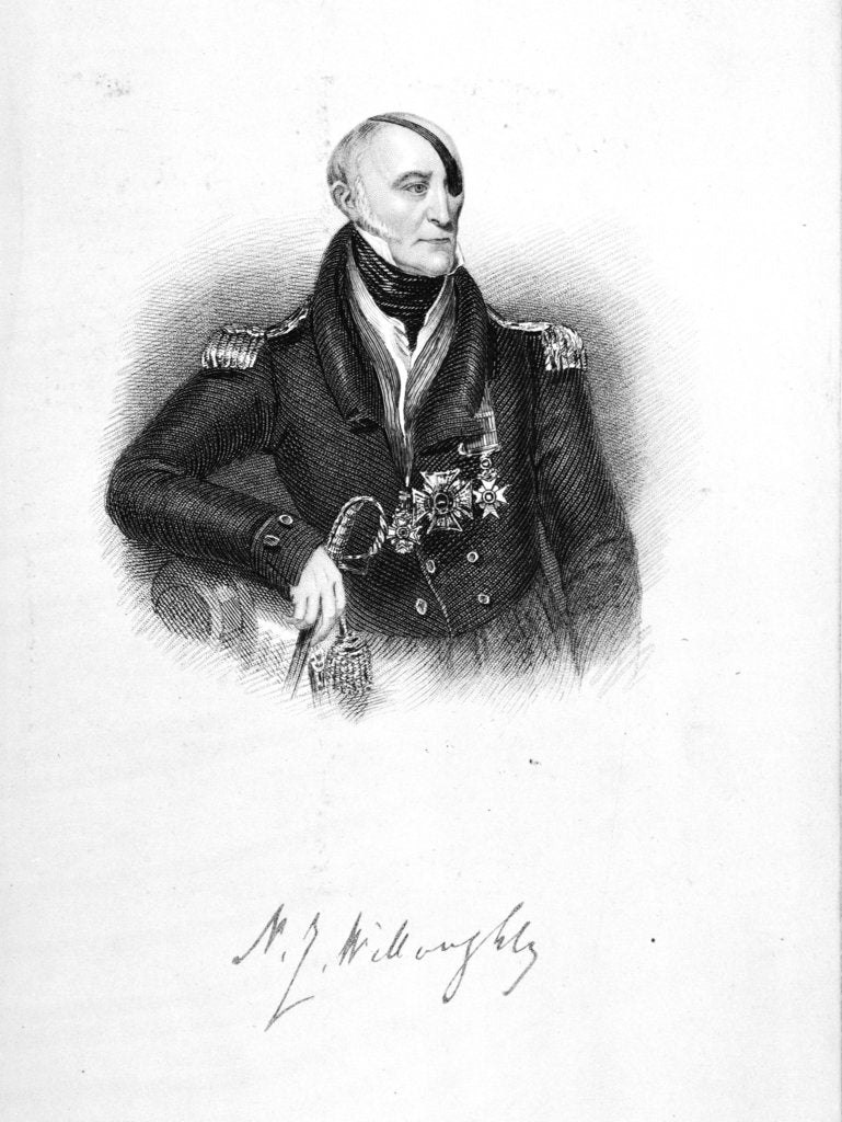 Detail of N.J. Willoughby by unknown