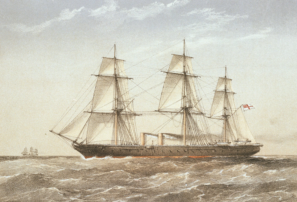 Detail of HMS 'Warrior' by Griffin & Co