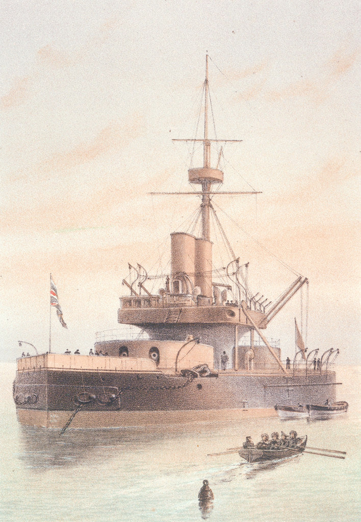 Detail of HMS 'Dreadnought' by Griffin & Co