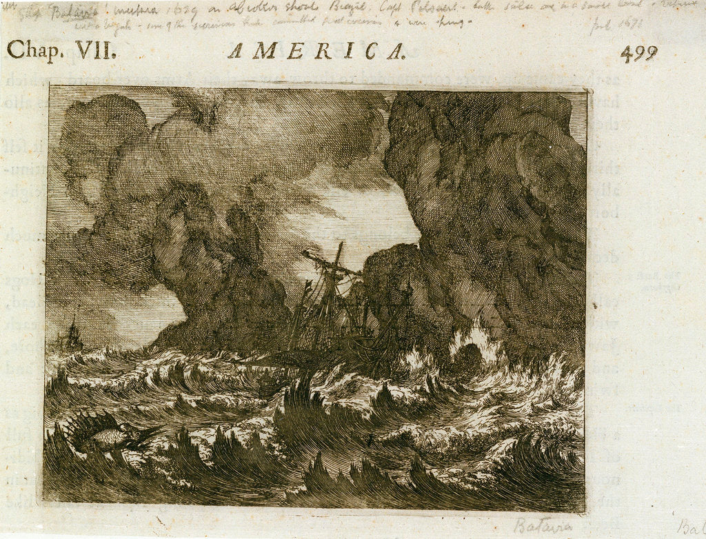 Detail of America' by unknown