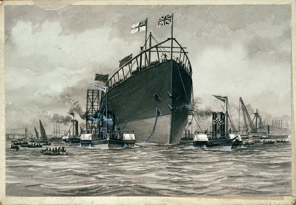 Detail of Launching of the 'Great Eastern' by unknown