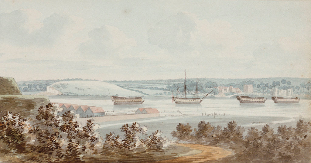 Detail of Chatham by George Bulteel Fisher