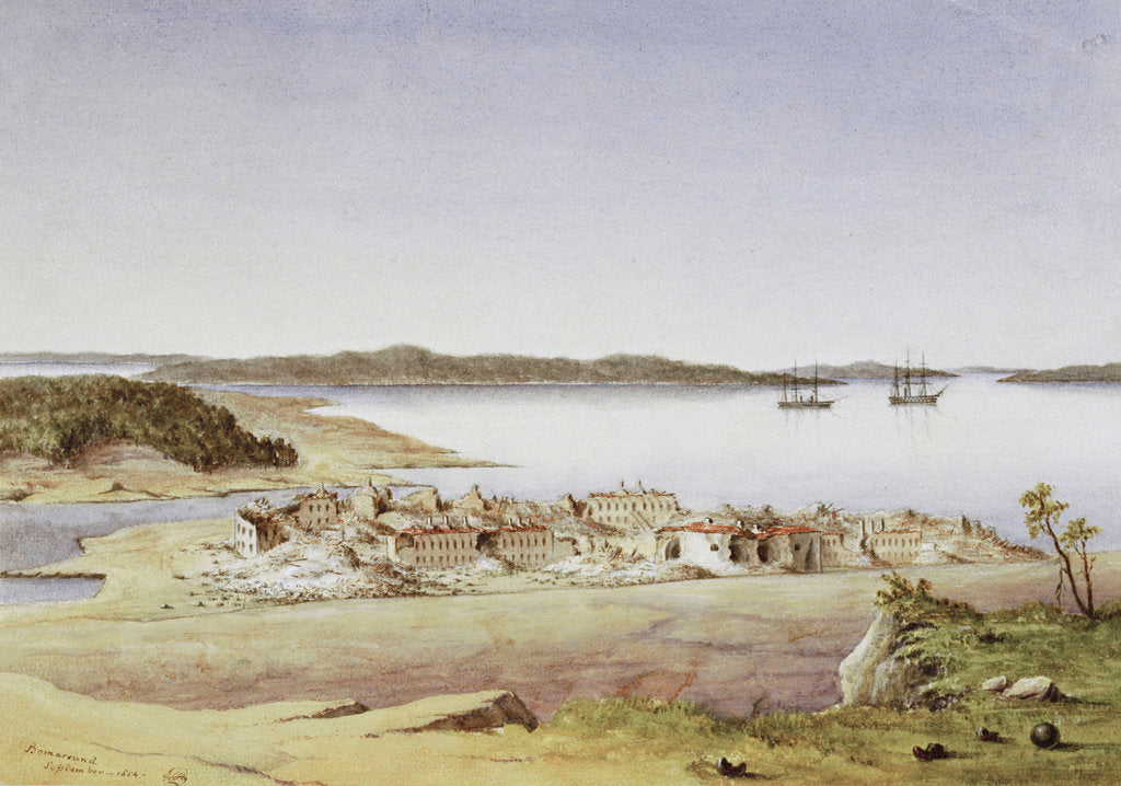 Bomarsund, August 1854 by Col. Durnford