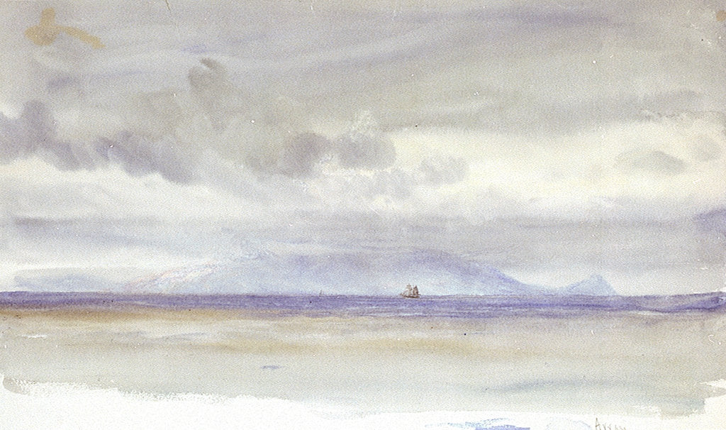 Detail of Arran by William Lionel Wyllie