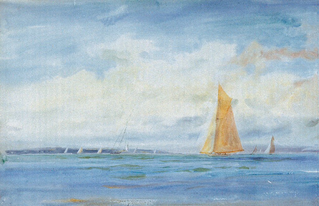 Detail of Solent by William Lionel Wyllie