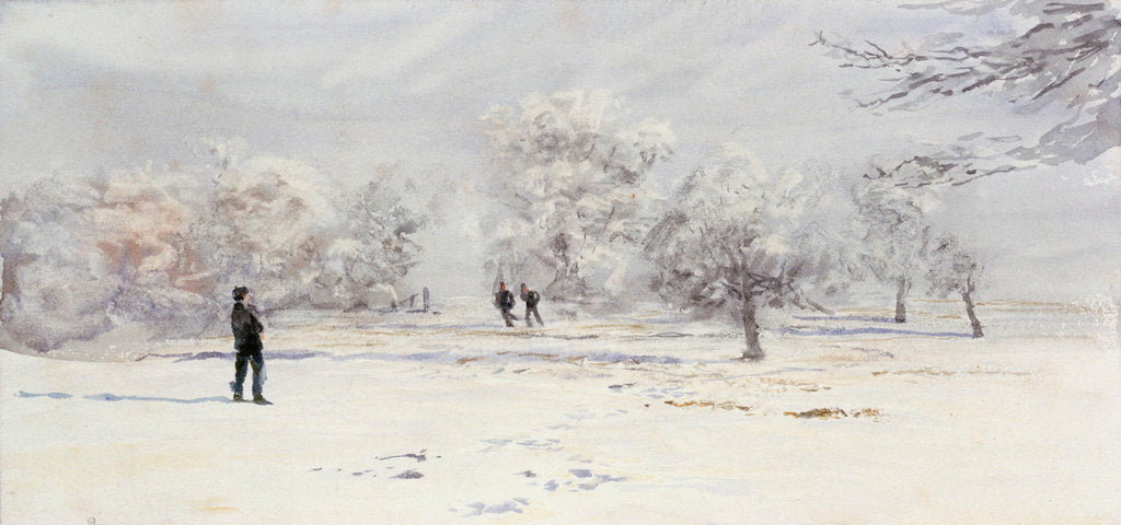 Detail of Snow covered by William Lionel Wyllie