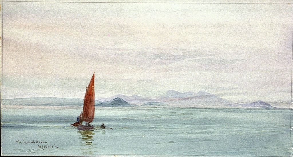 Detail of The Isle of Arran by William Lionel