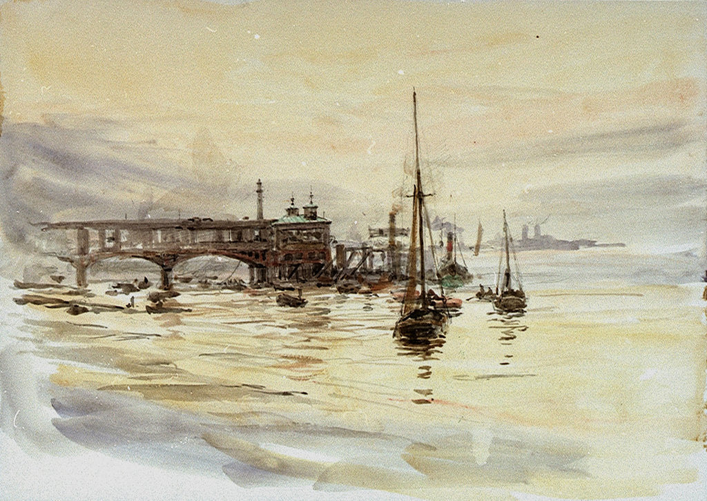Tilbury by William Lionel Wyllie