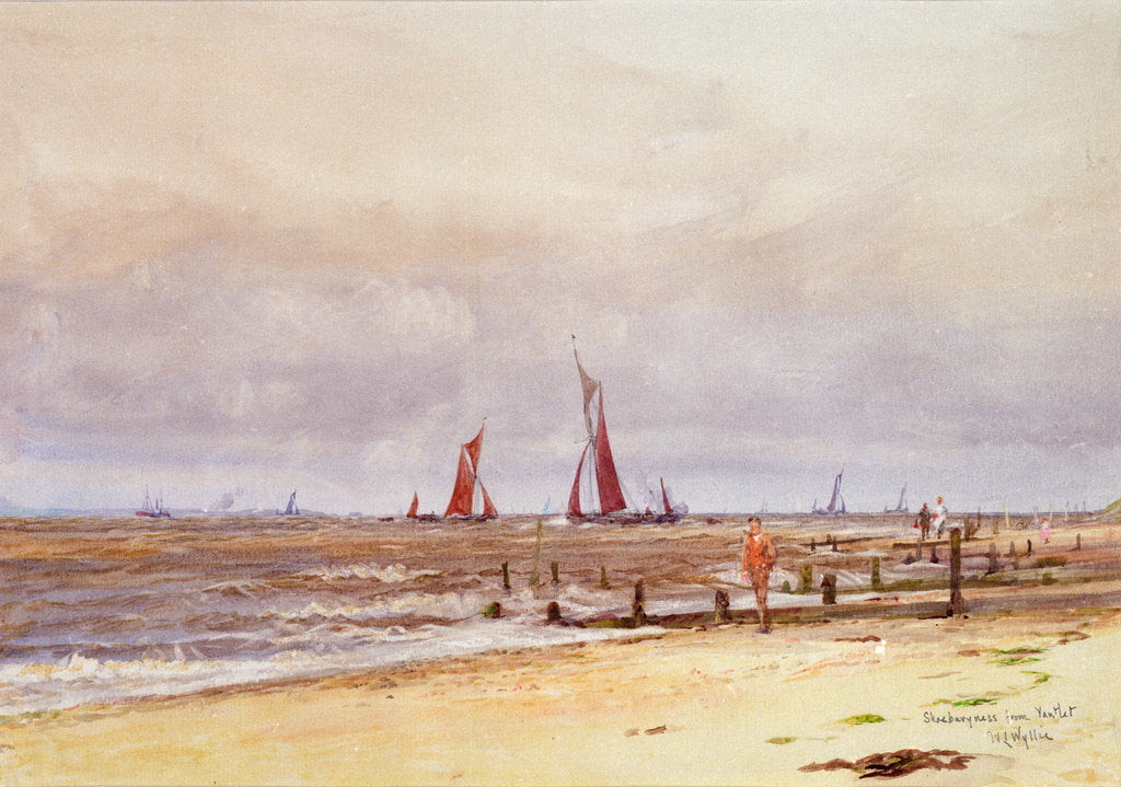 Detail of Shoeburyness from Yantlet by William Lionel Wyllie