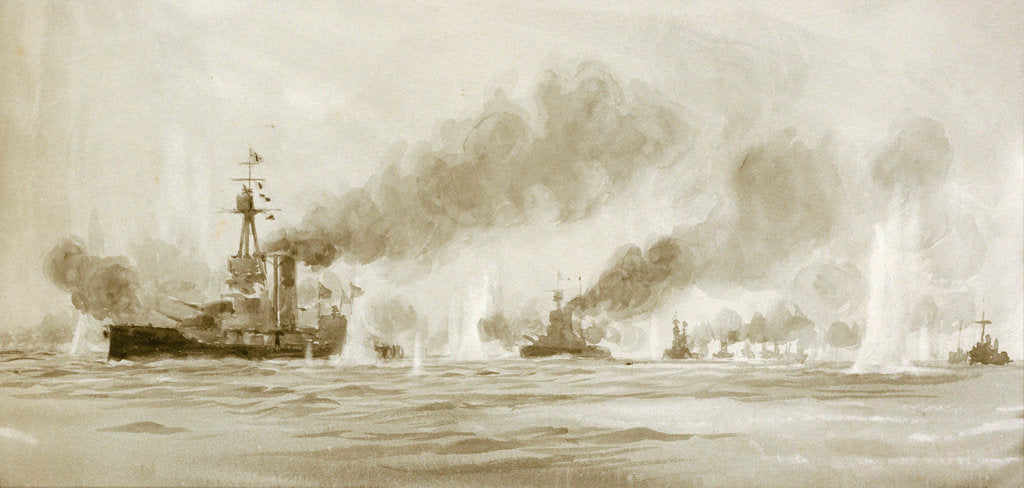 Detail of Jutland by William Lionel Wyllie