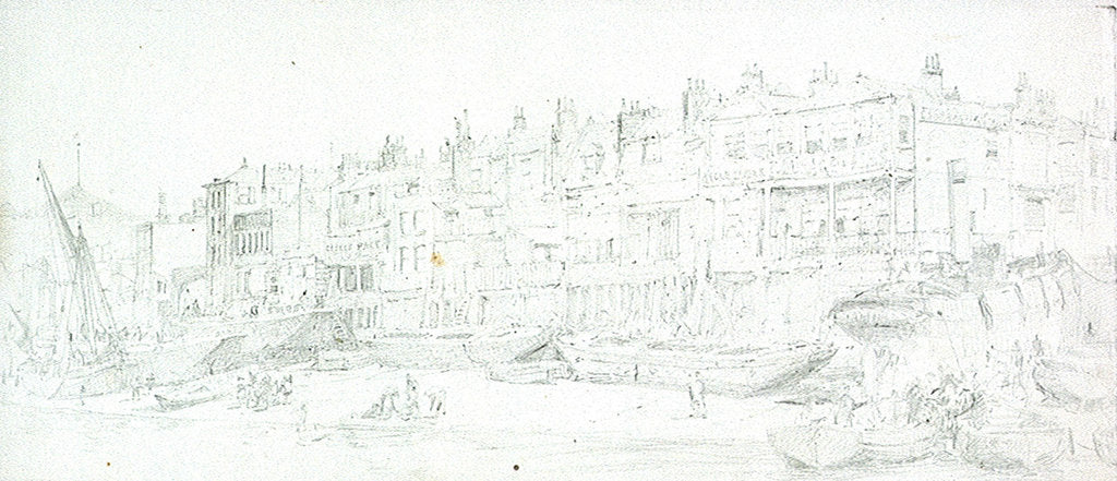 Detail of Old Limehouse by William Lionel Wyllie