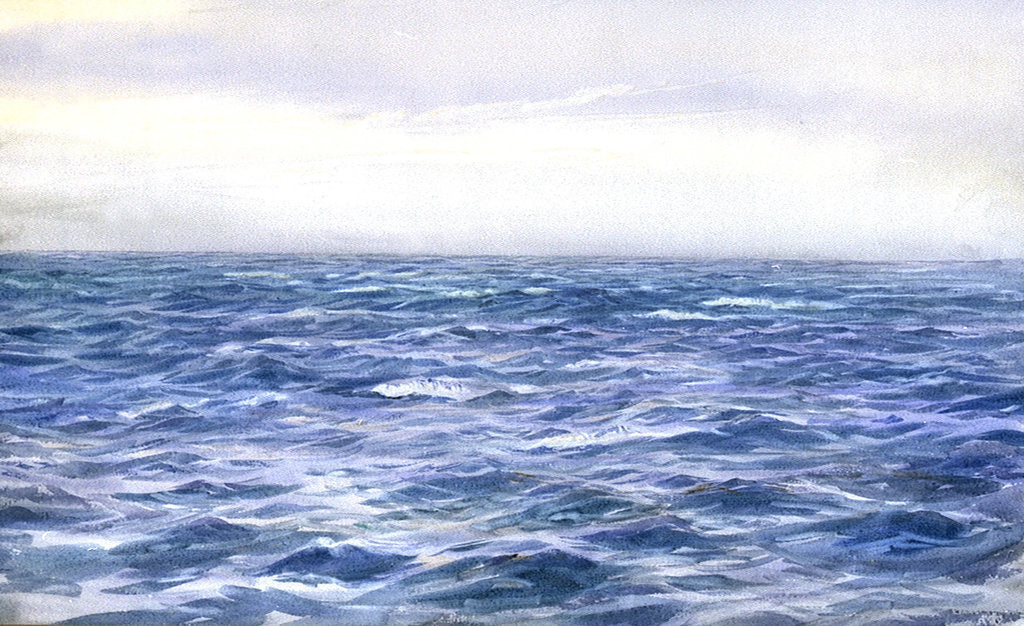 Detail of Blue Sea by William Lionel Wyllie