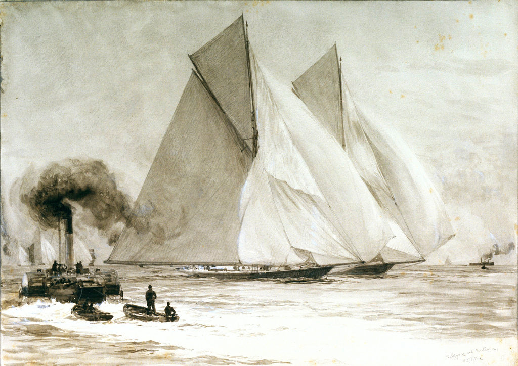Spithead by William Lionel Wyllie