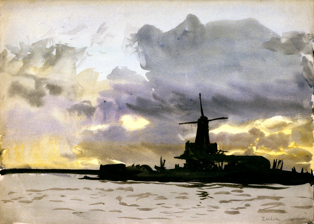Zaandam by William Lionel Wyllie