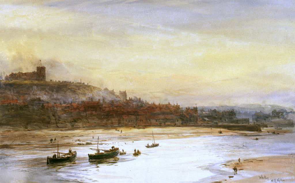 Detail of Whitby by William Lionel Wyllie