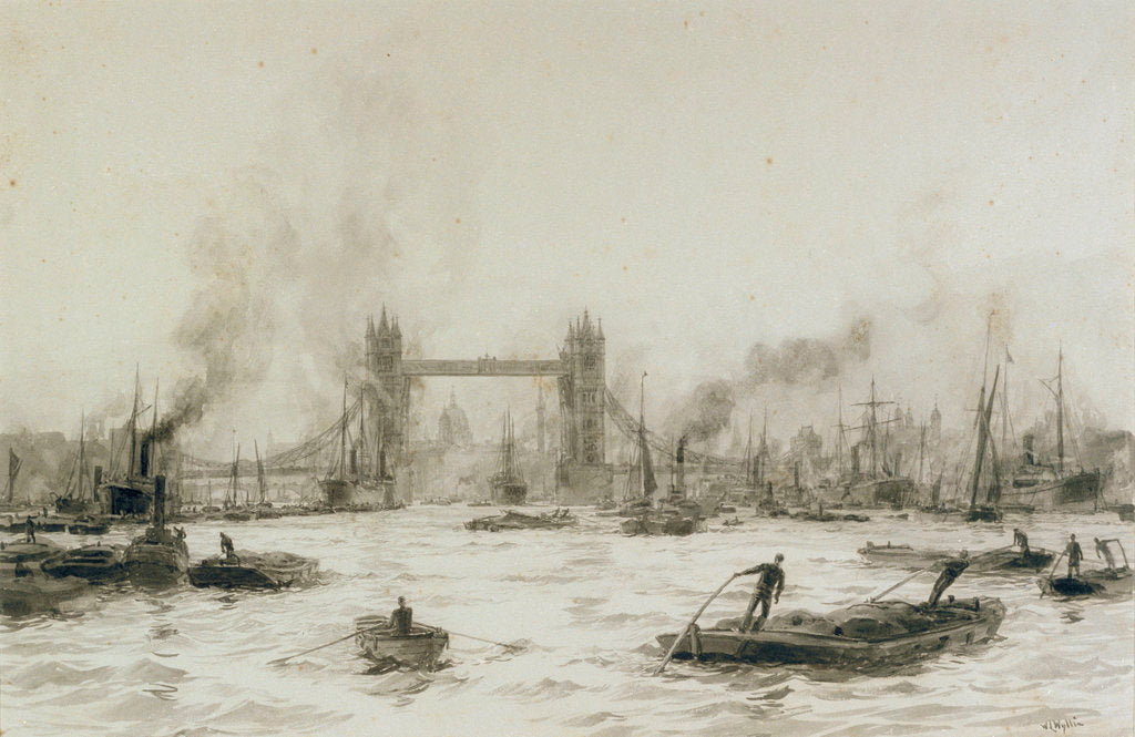 Tower Bridge by William Lionel Wyllie