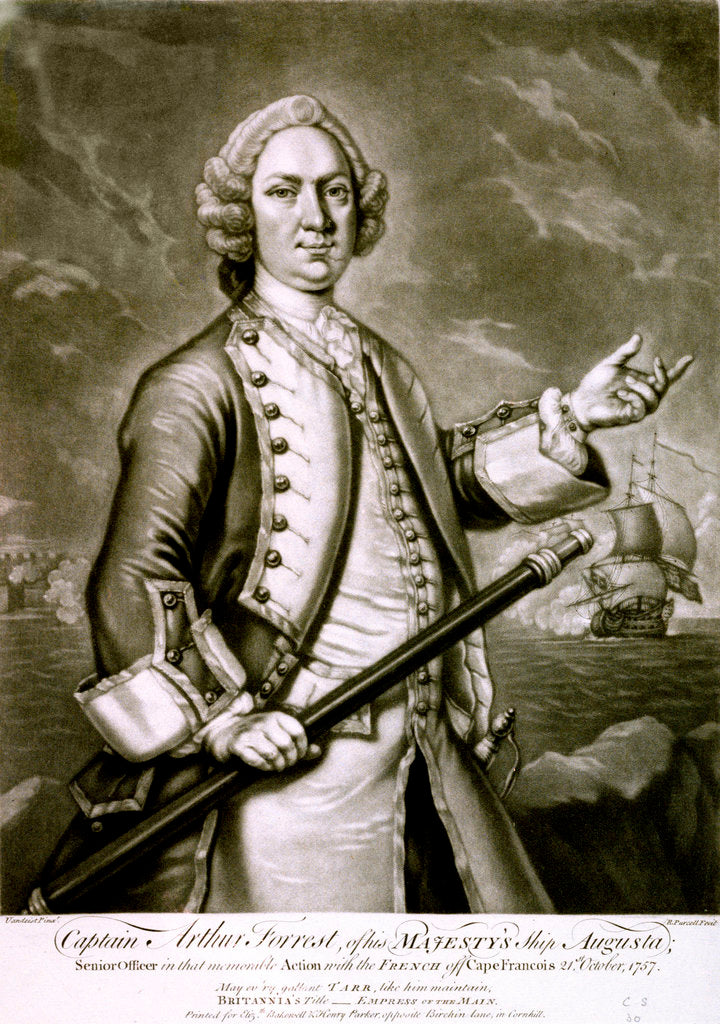 Captain Arthur Forrest, of HMS 'Augusta' by Vandeist