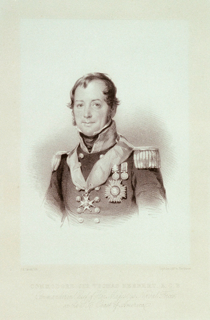 Commodore Sir Thomas Herbert, K.C.B. by J.H. Lynch