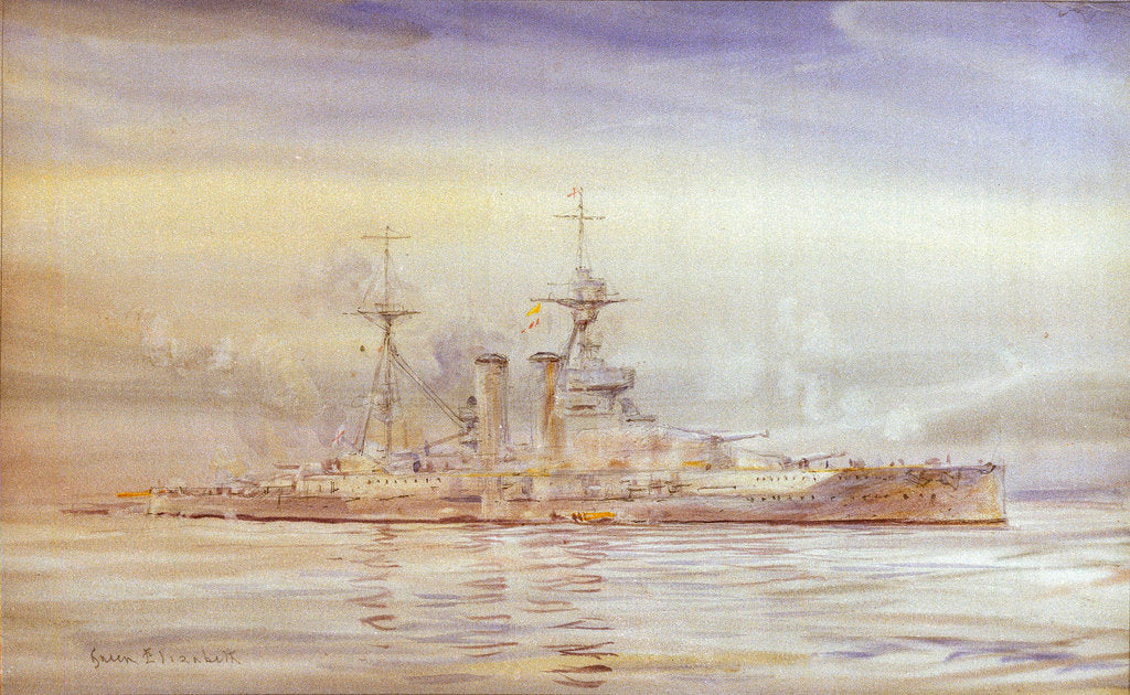 Detail of HMS 'Sydney' by W. H.