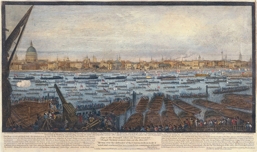 Detail of An accurate view... of London and Westminster... by John Thomas Smith