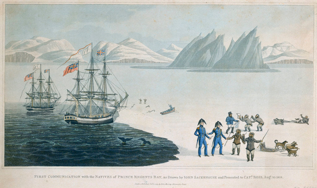 First communication with the Natives of Prince Regents Bay by John Sackhouse