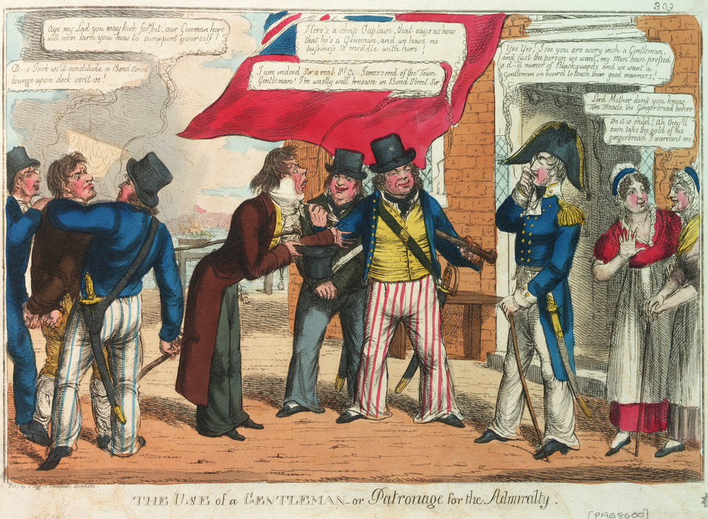 The Use of a Gentleman - or Patronage for the Admiralty by C. Williams