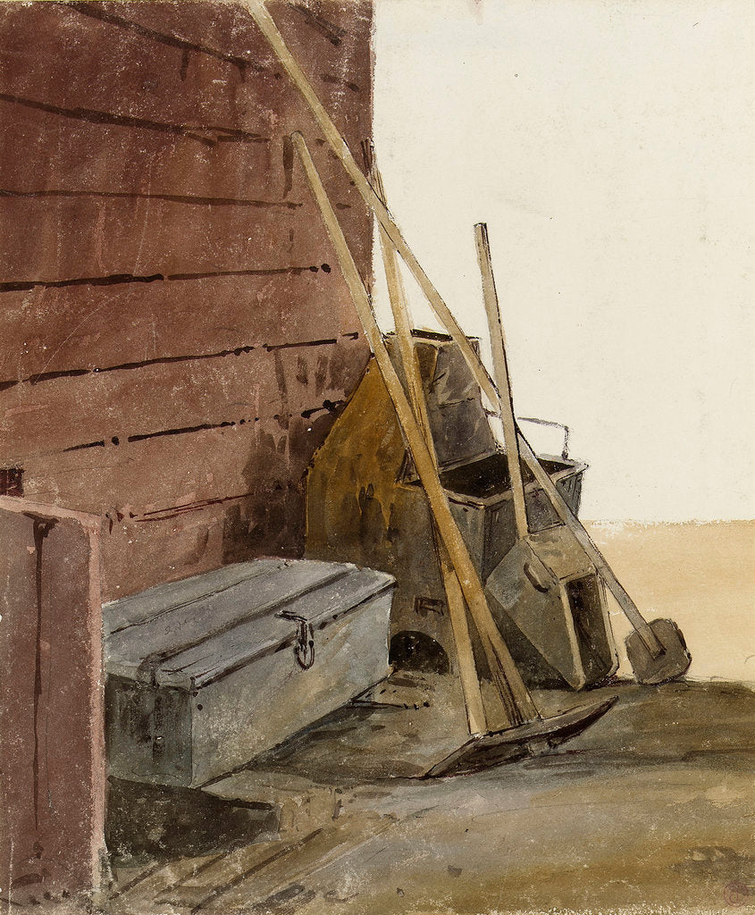 Detail of Tarring tools by Edward Duncan