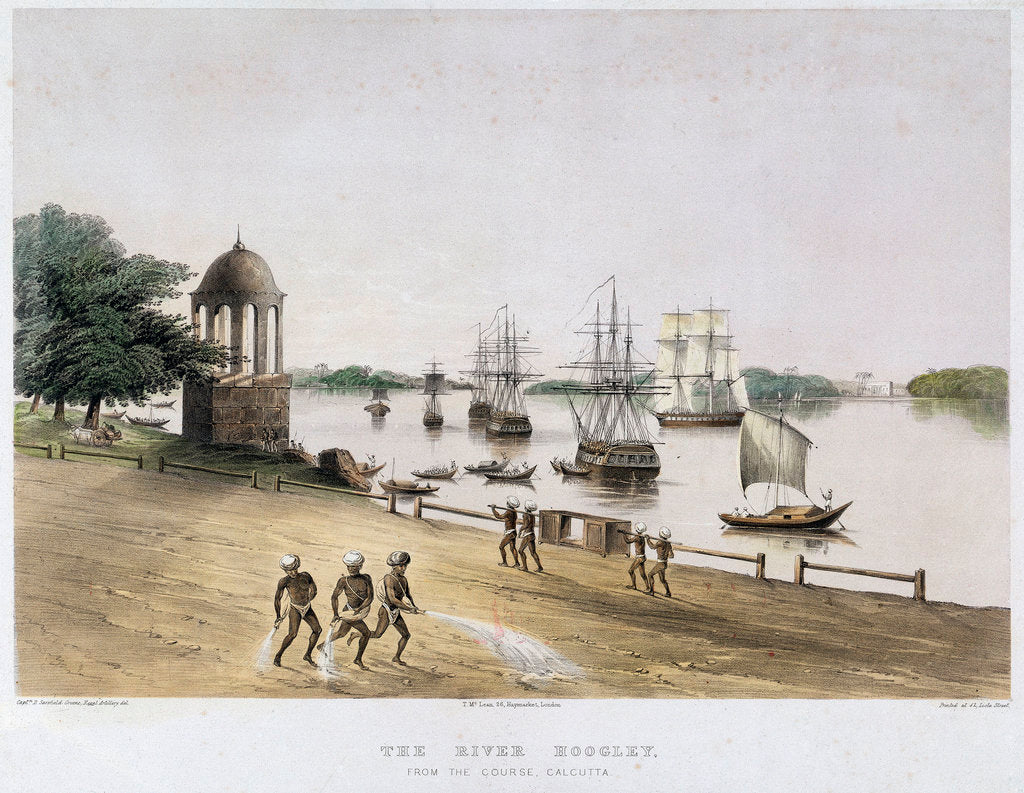 Detail of North River ferry boat (American) by Currier & Ives (publishers)