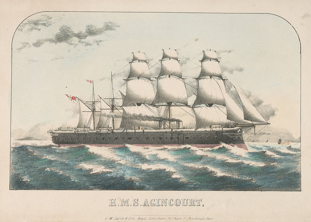 Detail of HMS 'Agincourt' by H.M. Currie & Son