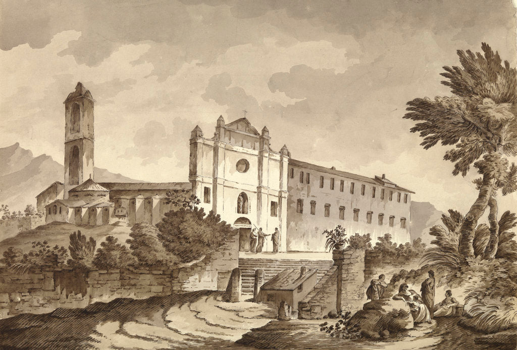Detail of Convent near Bastia, Corsica by unknown
