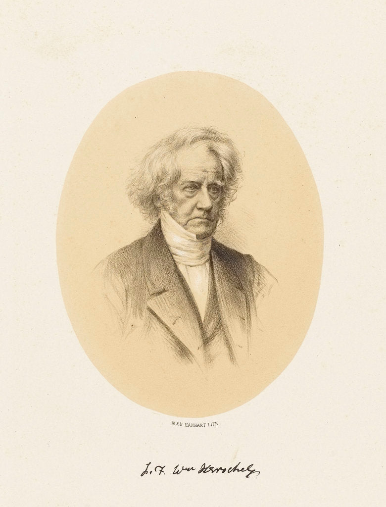 Detail of Sir John Frederick William Herschel (1792-1871) by M. & N. Hanhart