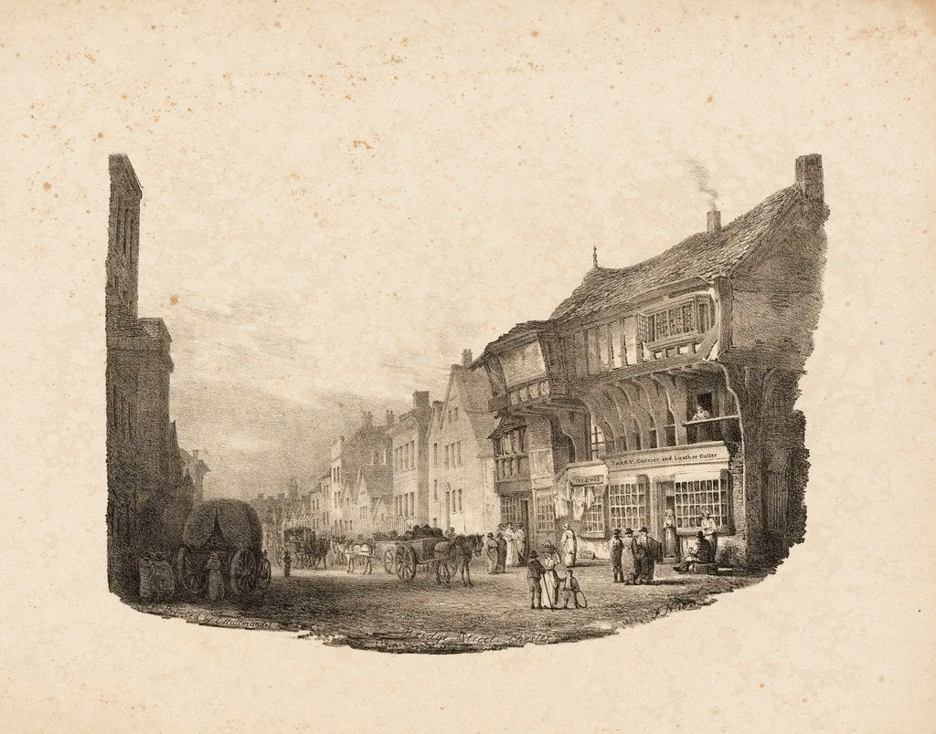 Detail of Bridge Street, Chester by F. N.