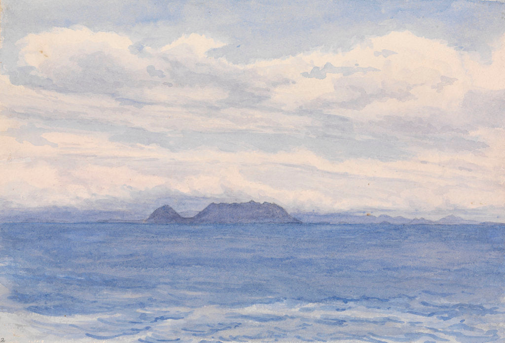 Detail of Cape Frio [Brazil] N by W 1/2 W distant 4 leagues. Lighthouse on highest point by Edward Gennys Fanshawe