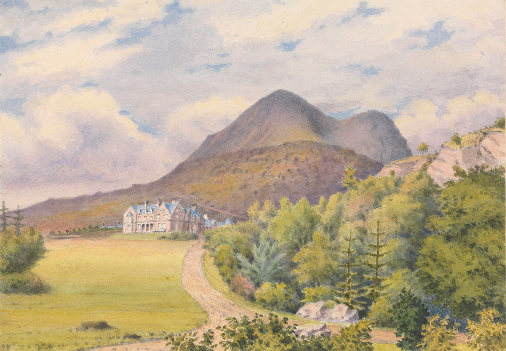 Detail of Torridon House, D. Darroch, Esqr. September 1883 [Scotland] by Edward Gennys Fanshawe