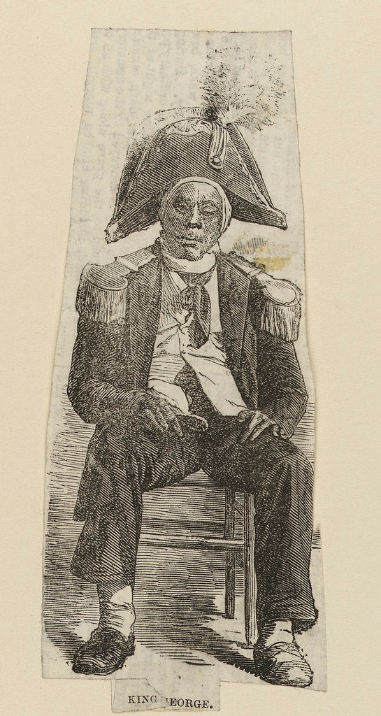 King George (Greenwich Pensioner) by unknown