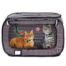 Load image into Gallery viewer, Portable Pop Up Cat Cage