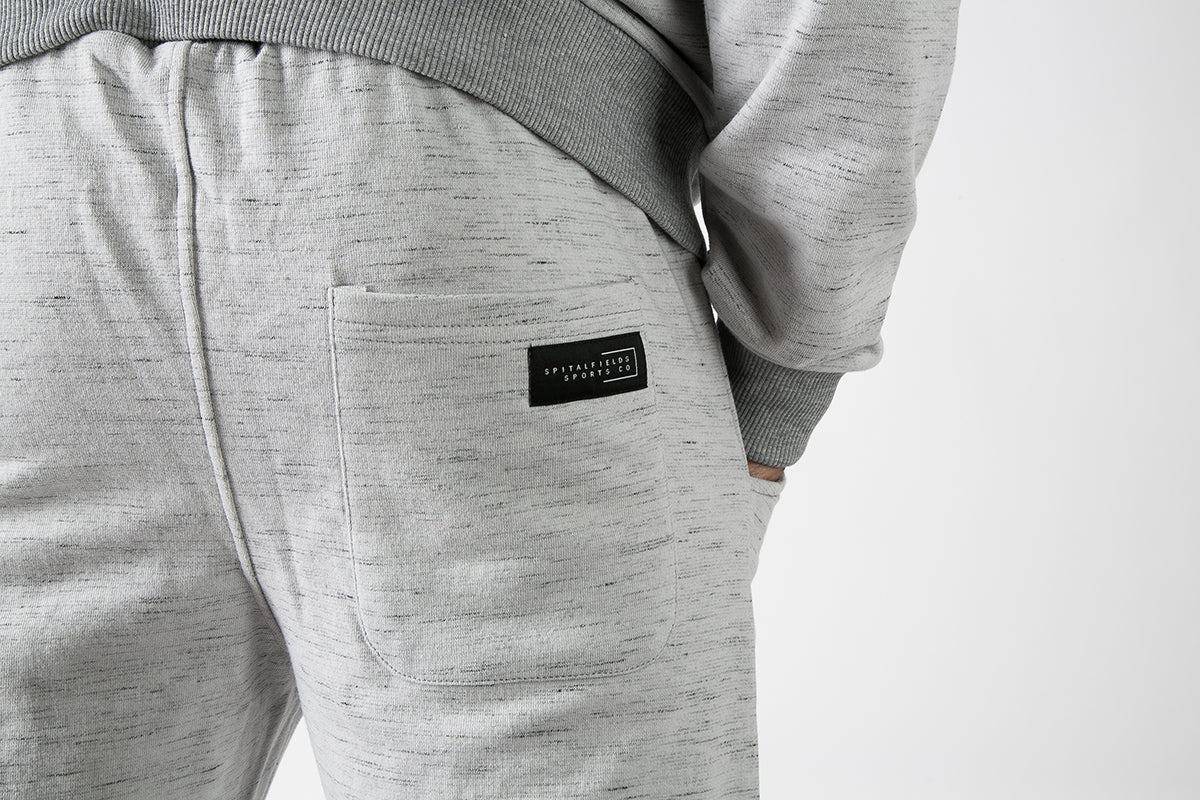 Athletic Fit Jogger with Graphic Print in Grey Grindle