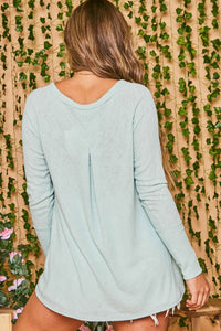 Daisy Mint Long Sleeve