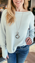 Aurora Blue Long Sleeve Top