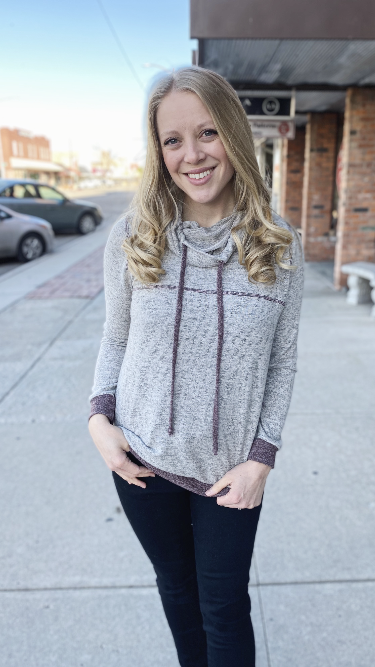 Leighton Cowl Neck Top