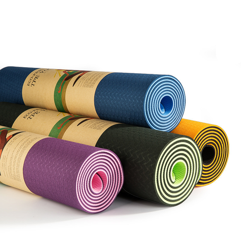 Two-Sided Yoga Mat