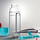 Pill Organizer Water Bottle
